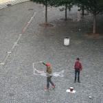Stufenfahrt QI Straßenkunst