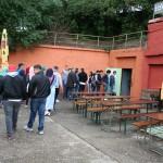 Stufenfahrt QI Eingang zum Bunker